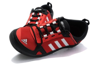 D-BOX  Adidas CLIMACOOL BOAT LACE GRAPHIC BOOST 紅白黑 衝浪鞋 網布
