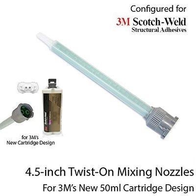 【低價王】3M Scotch-weld Pro Nozzle 綠9公分混合管 導管適用於3M AB膠 【新式AB膠專用】