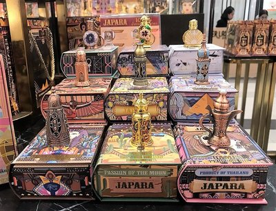 JAPARA經銷授權證書~預購~泰國 JAPARA 埃及精油香水10款小香~保證專櫃正品