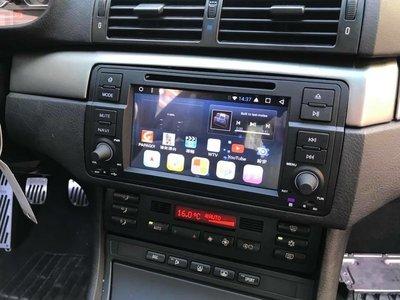 寶馬BMW 98~05 E46 318i 320i 330i Android安卓版觸控螢幕主機導航/USB/DVD/SD