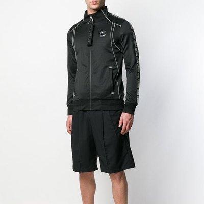Philipp Plein Geometric zipped jacket 男幾何線條立領運動外套 限時超低折扣代購中