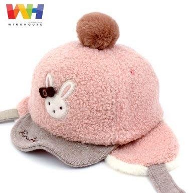 『※妳好,可愛※』妳好可愛韓國童鞋 正韓 韓國 Winghouse 小兔款帽子 兒童護耳帽 棒球帽 毛帽 帽子 兒童帽子