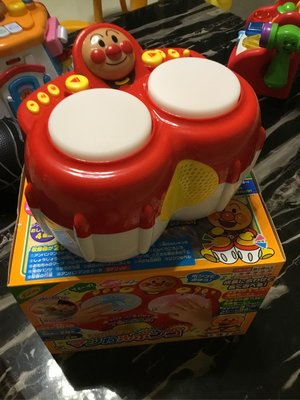【BABY House高雄旗艦店】日本 麵包超人 Anpanman 聲光音樂打鼓拍擊玩具