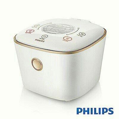 原廠保固兩年)Philips 飛利浦 雙向智旋IH電子鍋-石英白 HD4566