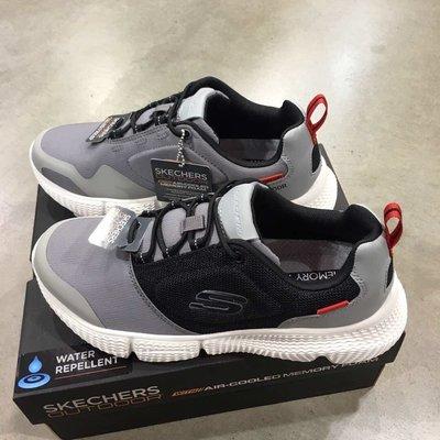 安安精品保證正品~Skechers 51900 Air Cooled Memory記憶鞋墊織紋柔韌減震中底輕質鞋底防水鞋面