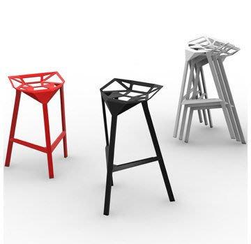【 一張椅子 】 義大利 Magis Stool One 復刻款 Konstantin Grcic 高腳椅、吧台椅