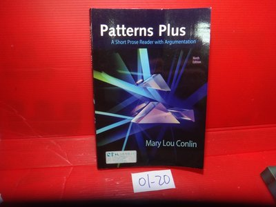 【愛悅二手書坊 01-20】Patterns Plus︰A Short Prose Reader with -