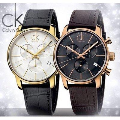 CITY系列三眼多功能石英男士腕錶K2G276G3 CK手錶 Calvin Klein手錶 ck手錶ck男