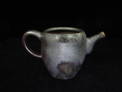 【古物玩家】張家誌老師 [柴燒茶海]茶壺茶海 鐵壺 花器 編號E412