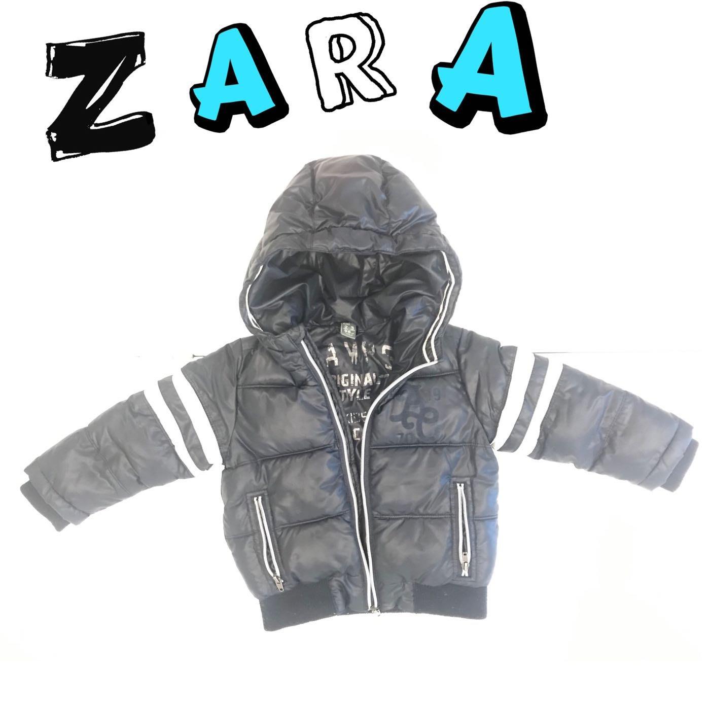 ZARA 幼童鋪棉保暖外套 2-3歲