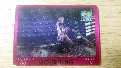 97-98 UD DIAMOND VISION #14 ALONZO MOURNING