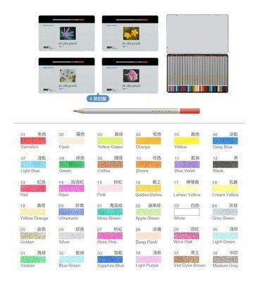 【鑫鑫文具】雄獅 C3600 36色塗頭色筆鐵盒 油性色鉛筆~234元