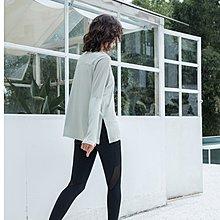 路依坊  瑜珈長袖 t恤 彈力輕盈 柔軟舒適 透氣速乾 健身訓練 舞蹈罩衫 運動上衣 推薦 A2302