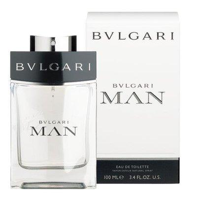 HUAHUA香水美妝 BVLGARI MAN 寶格麗 當代 男性 淡香水 100ml【全新正品】