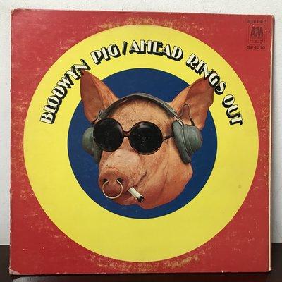 晨雨黑膠【西洋】美版/Blodwyn Pig – Ahead Rings Out (1969首版)
