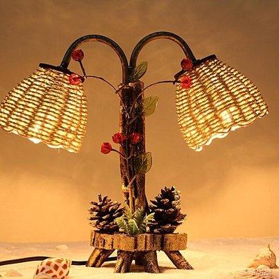 台燈臥室床頭創意 客廳溫馨浪漫節能燈NNJ-1249【暖暖居家】