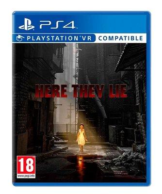 現貨中PS4遊戲 VR 謊言空間 Here They Lie  英文版 【板橋魔力】