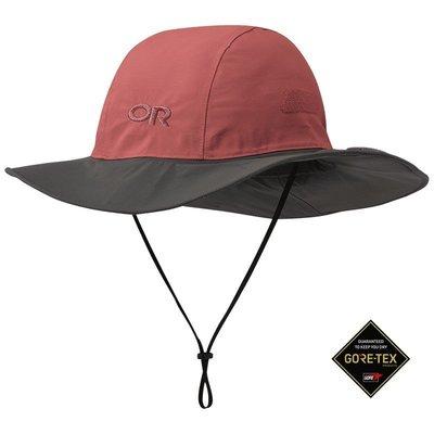 滿3000免運TheNorthFace雙和專賣店OR防水透氣大盤帽/Seattle Sombrero/280135/紅灰