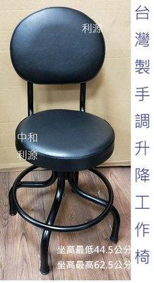 【40年老店專業家】全新【台灣製】辦公椅 皮質 作業員 工作椅 實驗 圓墊 高腳椅 有背 吧台 診療 櫃檯 餐椅 會客椅