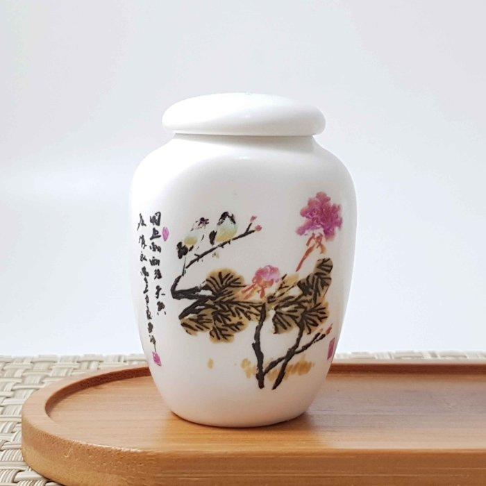 【茶嶺古道】貼花隨身小罐/ 茶倉 密封罐 儲物罐 迷你 隨身 外出罐