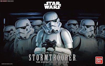 Bandai 1/12 星球大戰 Star Wars ストームトルーパー (プラモデル) Stormtrooper ¥2,640