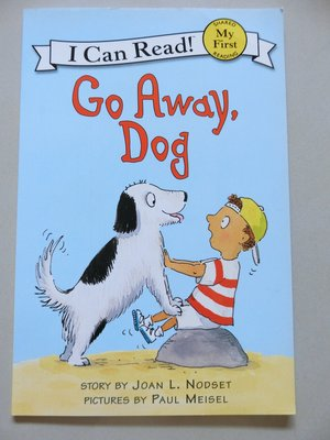 [I Can Read] Go Away, Dog (My First  Level)英文小書