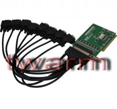 《德源科技》r)UT-768,8口RS232 工業級 PCI 高速  串口卡
