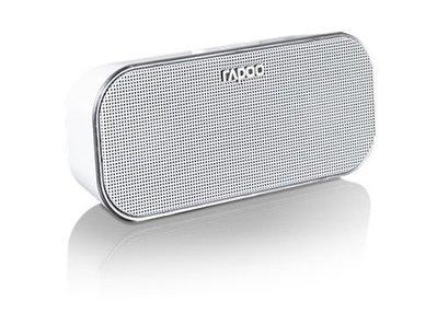 [可同時連接兩台設備] 雷柏 Rapoo A500 藍芽 NFC多媒體音箱 藍芽4.0 / 有線 藍牙傳輸 NFC 白色