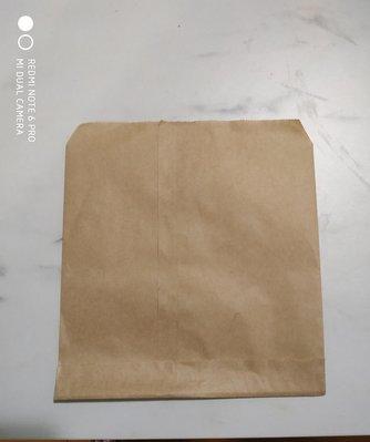 紅豆餅袋 鬆餅袋  雞蛋糕袋 牛皮紙袋( 空白846)100入