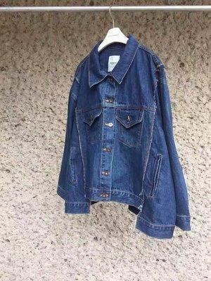 蘋果樹 韓國服飾 • CONCORDANCE下襬造型牛仔外套