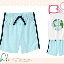 【B& G童裝】正品美國進口Crazy8 天藍色棉質運動短褲12-18-24mos,2,3yrs
