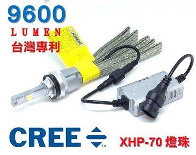 360度可調光形【4300K升級款】CREE XHP 70 LED大燈9600流明H7 H4 H11 9006 9005