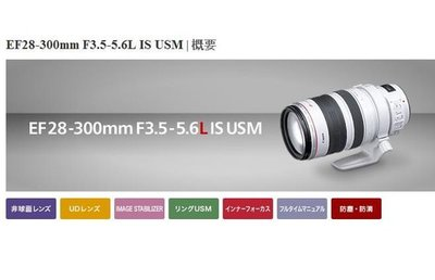 【eWhat億華】Canon EF 28-300mm F3.5-5.6 L IS USM 全幅 完全焦段 平輸 【3】