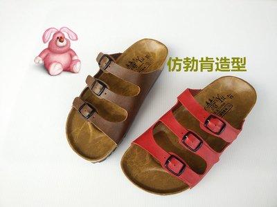 [永誠鞋舖]#653#類勃肯式女用拖鞋。。