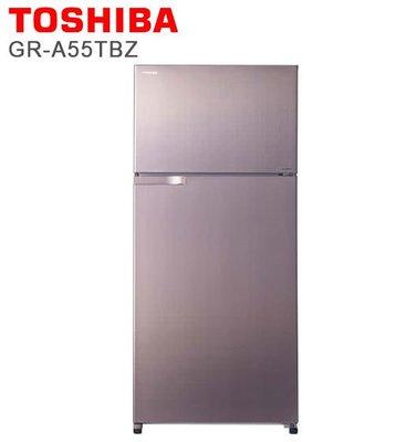 【綠電器】TOSHIBA東芝 510L雙門變頻電冰箱 GR-A55TBZ(N) (不含安裝費)