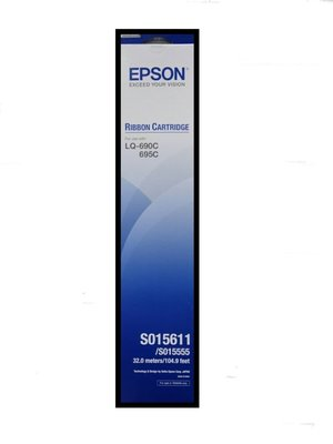 《含稅》全新EPSON S015611原廠色帶適用LQ-690C / LQ690 / 690C / 690 促銷~