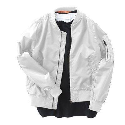 飛行外套 複古飛行夾克 男褂子 情侶裝 學生春秋裝棒球服 棒球外套 莎芭