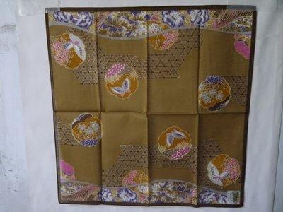 日本利休染小方巾1