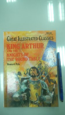 C4-3bc☆『King Arthur and the Knights of the Round Table』Pyle