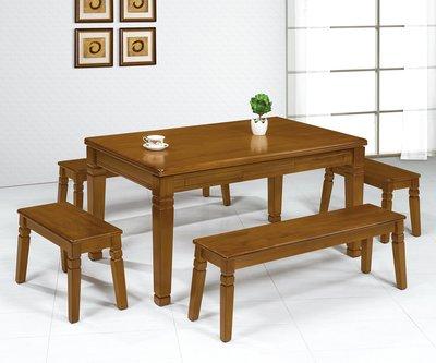 【南洋風休閒傢俱】餐廳家具系列-維尼休閒桌 餐桌 餐廳桌 休閒桌 (金610-6)