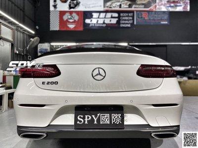 SPY國際 賓士 M.Benz W238 C238 新E coupe AMG款 碳纖維尾翼