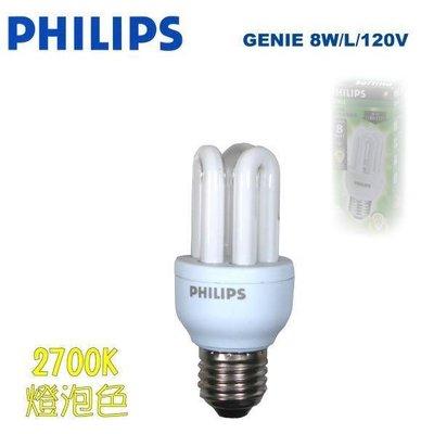 PHILIPS(電子式)飛利浦2U 5W螺旋省電燈管。另有飛利浦2U 8W 省電燈泡3U省電燈泡 台中市