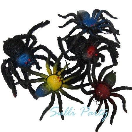 雪莉派對~假蜘蛛 萬聖節佈置.搞怪 整人玩具.派對表演服裝 ~ 15cm軟膠蜘蛛
