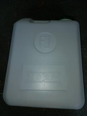 油桶20公升 大口徑 漏水水龍頭 儲水桶 提水桶 塑膠桶_粗俗俗五金大賣場