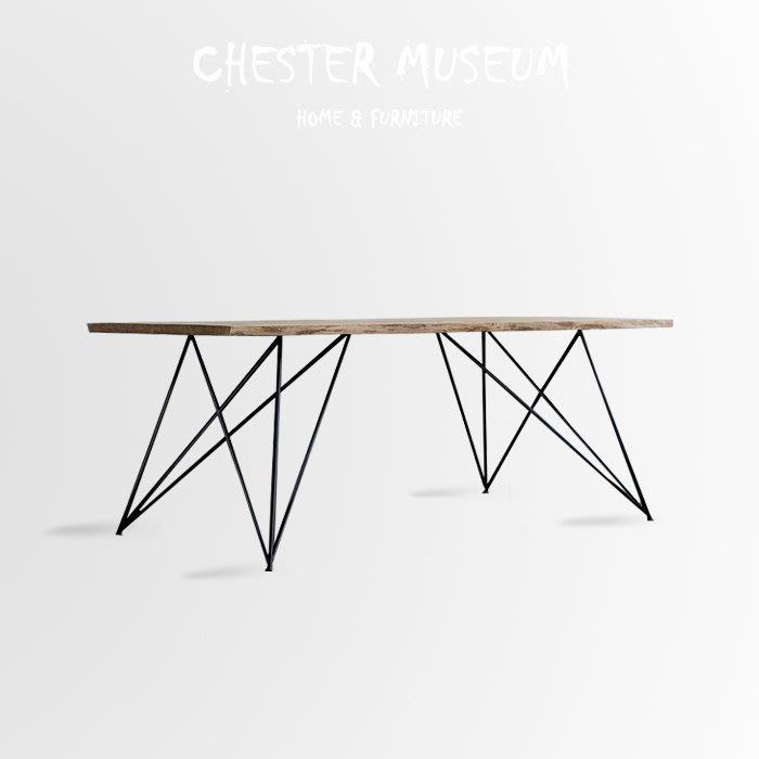 【大】工業風松木桌子(G款) 辦公桌 餐桌 總裁桌 長桌 桌子 會議桌 工業風桌 工業風桌子 工業風 桌子 工業風餐桌