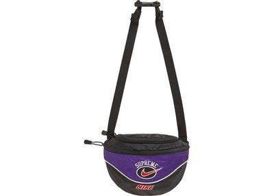 「Rush Kingdom」代購 Supreme Nike Shoulder Bag Purple 紫色 肩背包