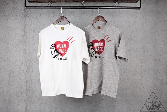 【HYDRA】Human Made #1814 T-Shirt 鴨子 天竺棉 短T【HM18TE014】