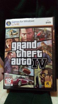 PC版俠盜獵車手IV遊戲光碟片一組