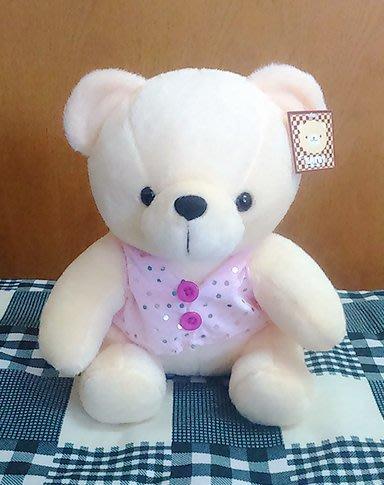 {欣娃小舖}~穿衣服的熊 熊造型 絨毛娃娃(26cm)