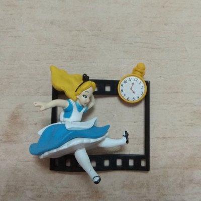 迪士尼 底片 愛麗絲 公仔 扭蛋 玩具